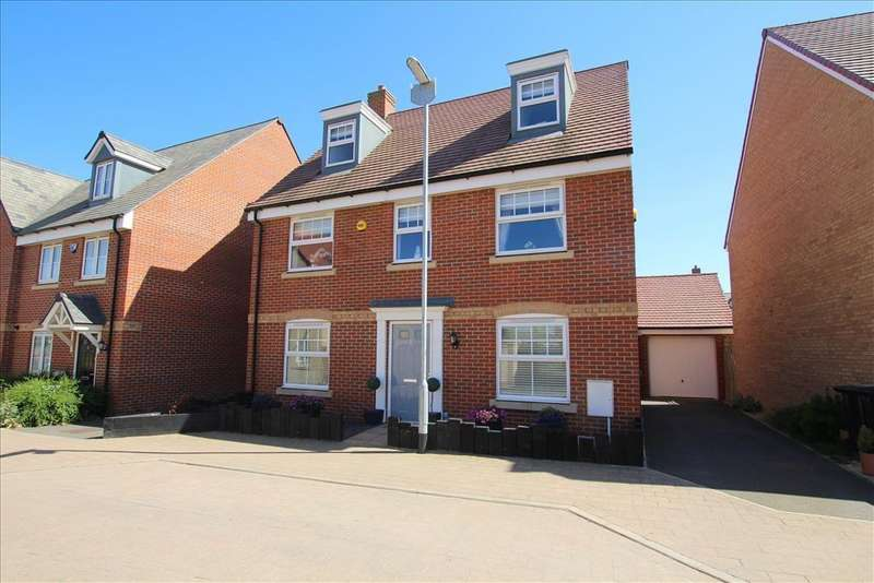 5 Bedrooms Detached House for sale in Somerville Croft, Biggleswade, SG18
