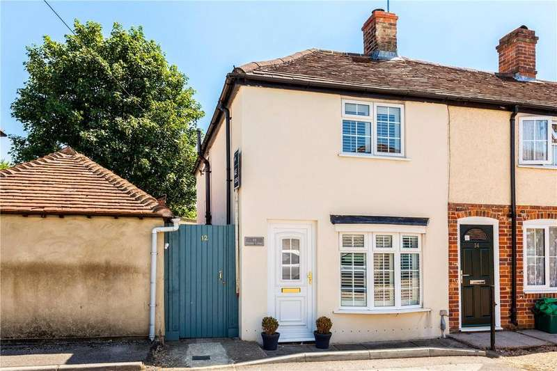 2 Bedrooms End Of Terrace House for sale in St. Johns Road, Thatcham, Berkshire, RG19