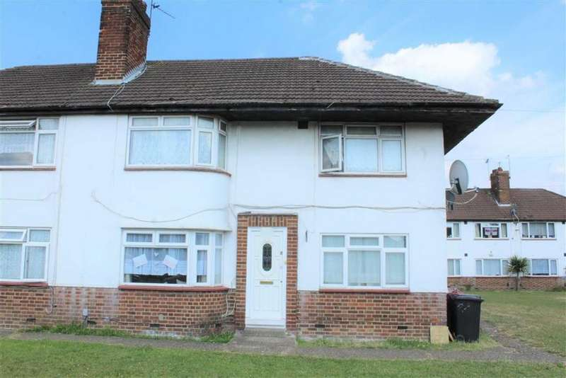 2 Bedrooms Maisonette Flat for sale in Broadoak Court, Slough, Berkshire