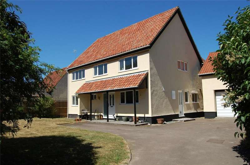 4 Bedrooms Detached House for sale in The Green, Tuddenham St Mary, Bury St Edmunds, Suffolk, IP28