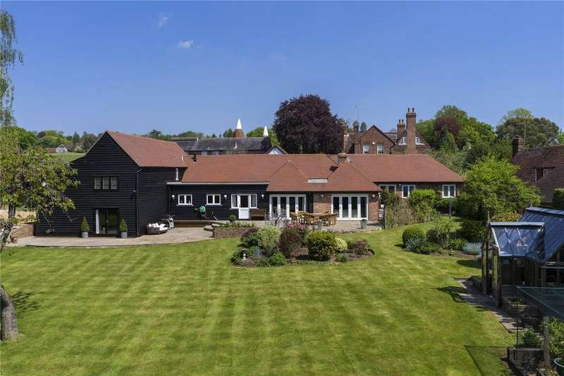 5 Bedrooms Barn Conversion Character Property for sale in Fairmans Lane, Brenchley, Tonbridge, Kent