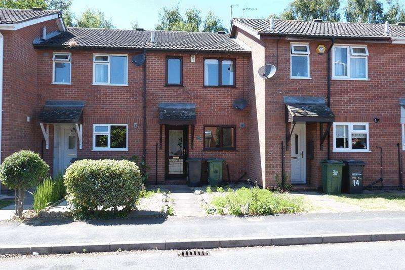 2 Bedrooms Terraced House for sale in Lincoln Drive, Syston