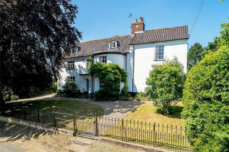 6 Bedrooms Detached House for sale in Ubbeston, Halesworth, Suffolk