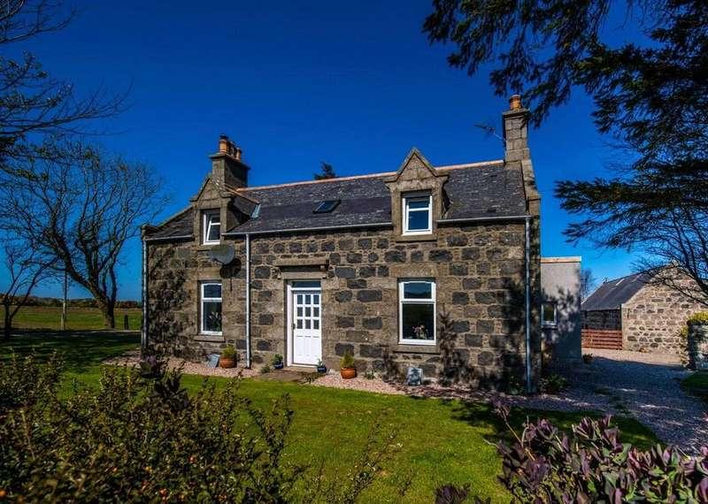 4 Bedrooms Detached House for sale in Upper Kinnadie, Auchnagatt, Ellon, Aberdeenshire, AB41