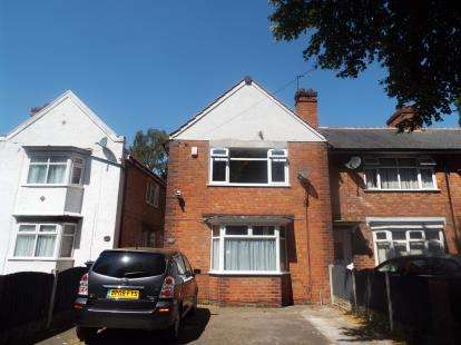 3 Bedrooms End Of Terrace House for sale in Lyncroft Road, Birmingham