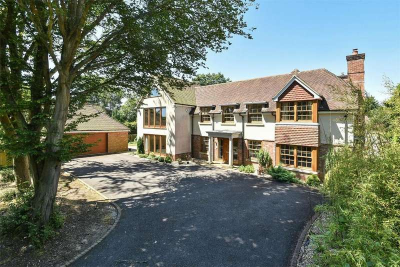 5 Bedrooms Detached House for sale in Compton, Winchester, Hampshire