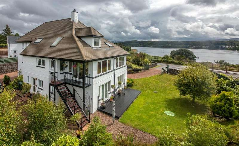 5 Bedrooms Detached House for sale in Eilean Fraoich, North Connel, Oban, Argyll, PA37