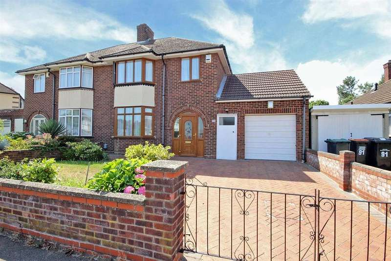 3 Bedrooms Semi Detached House for sale in Harewood Road, Bedford