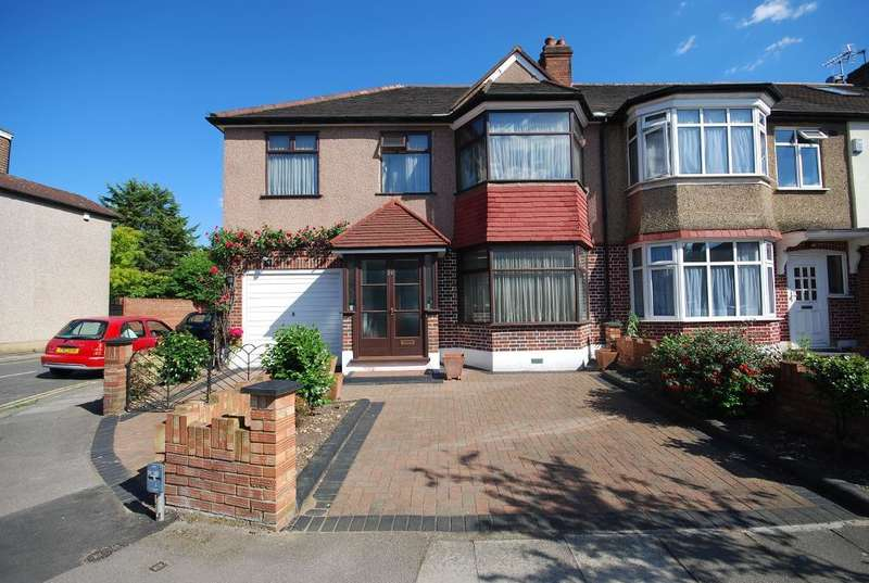 4 Bedrooms End Of Terrace House for sale in HUXLEY GARDENS, LONDON, NW10 7EA