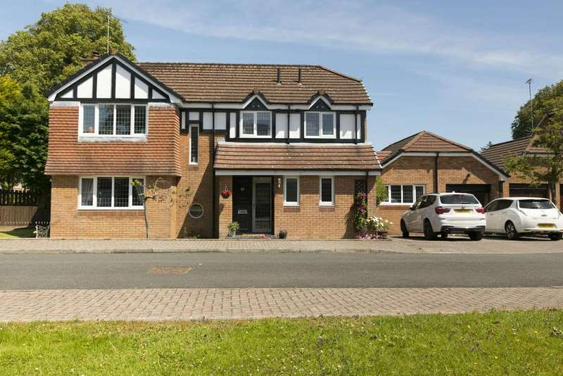 4 Bedrooms Detached House for sale in 16 Craigbet Avenue, Bridge of Weir, PA11 3QX