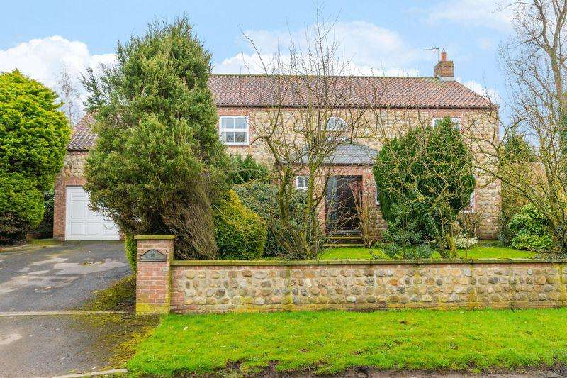 5 Bedrooms Detached House for sale in Thistledown, Main Street, Exelby, Bedale, North Yorkshire DL8 2HD