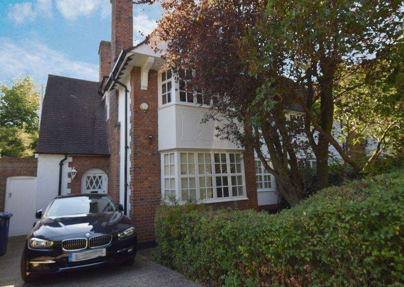 3 Bedrooms Semi Detached House for sale in Willifield Way, Hampstead Garden Suburb, NW11