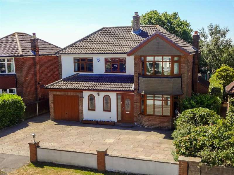 4 Bedrooms Detached House for sale in West End Rise, Horsforth