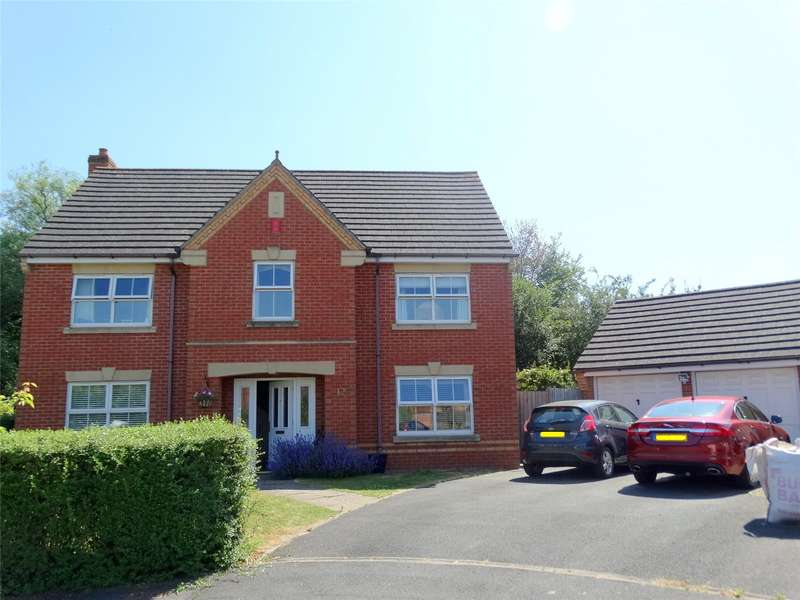 4 Bedrooms Detached House for sale in Bourne Close Worcester WR7
