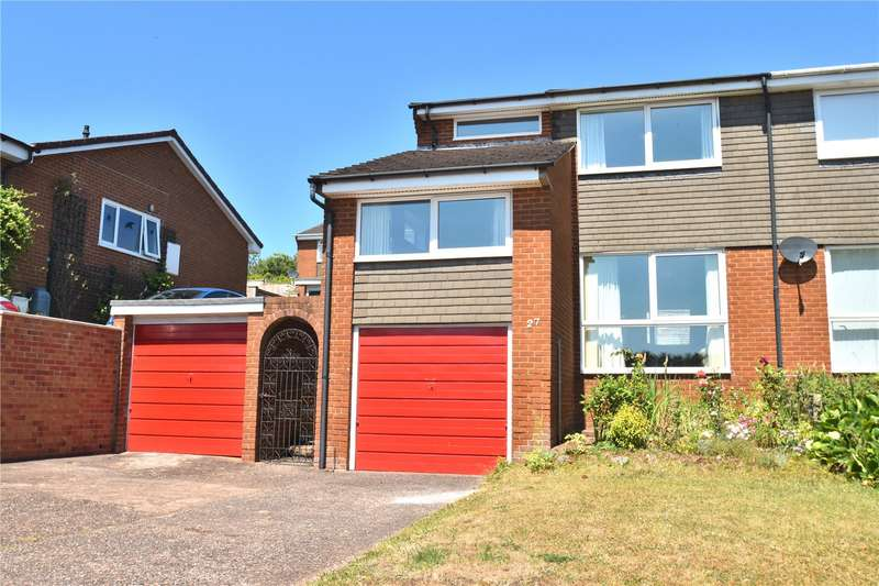 3 Bedrooms Semi Detached House for sale in The Brendons, Sampford Peverell, Tiverton, Devon, EX16
