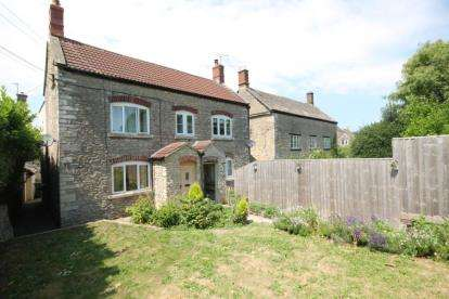 4 Bedrooms Semi Detached House for sale in High Street, Hillesley, Wotton-under-Edge, Gloucestershire