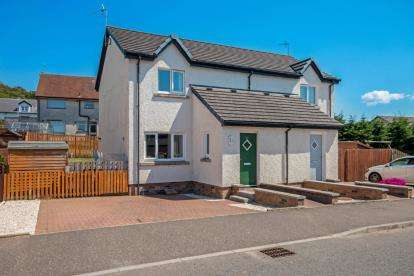 2 Bedrooms Semi Detached House for sale in Finlayson Way, Coylton