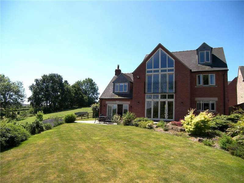 5 Bedrooms Detached House for sale in Derwent View, Crich Lane, Ridgeway, Derbyshire, DE56
