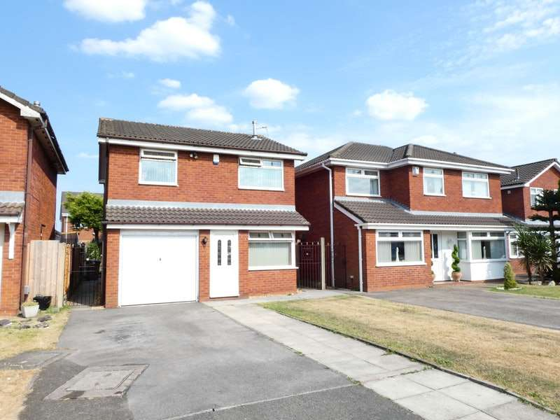 3 Bedrooms Detached House for sale in Crown Fields Close, Newton-le-Willows, Merseyside, WA12