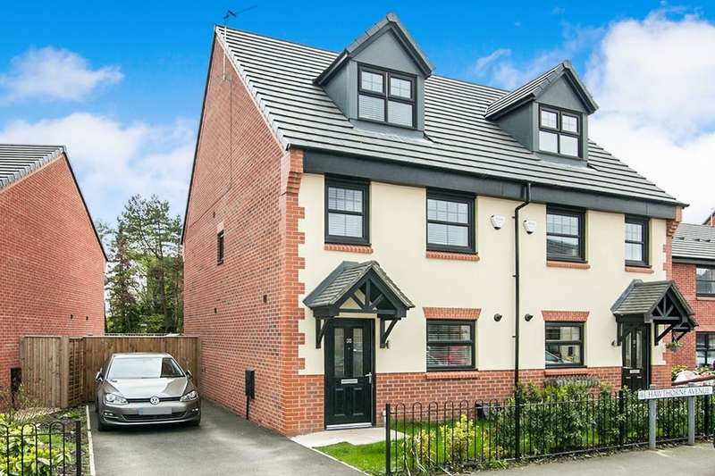 3 Bedrooms Semi Detached House for sale in Hawthorn Avenue, Hazel Grove, Stockport, SK7