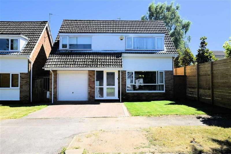 4 Bedrooms Detached House for sale in Silverthorne Drive, Caversham, Reading