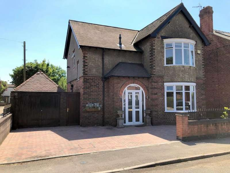 3 Bedrooms Detached House for sale in Peasehill, Ripley