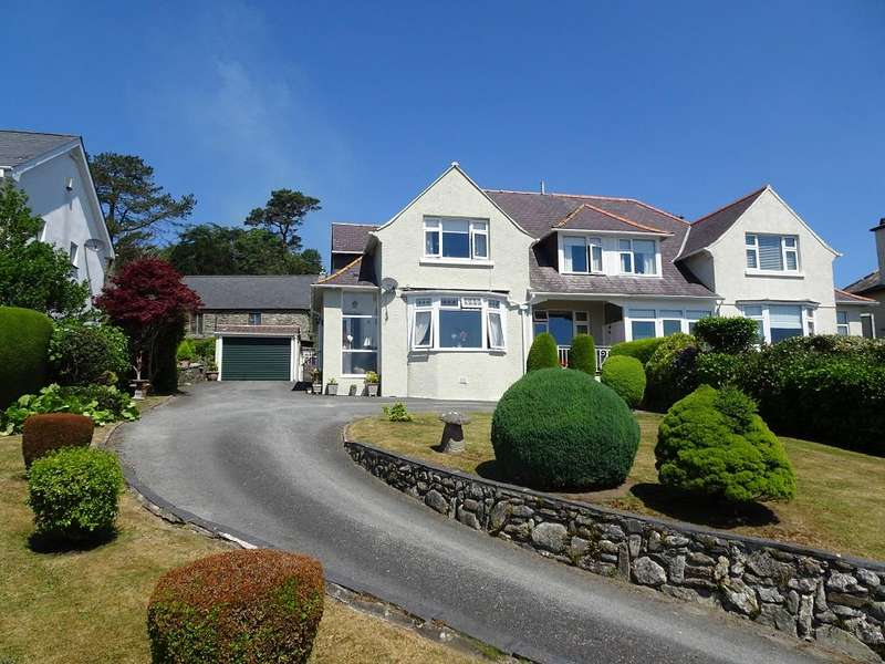 4 Bedrooms Semi Detached House for sale in Havelock, Radcliffe Road, Criccieth LL52