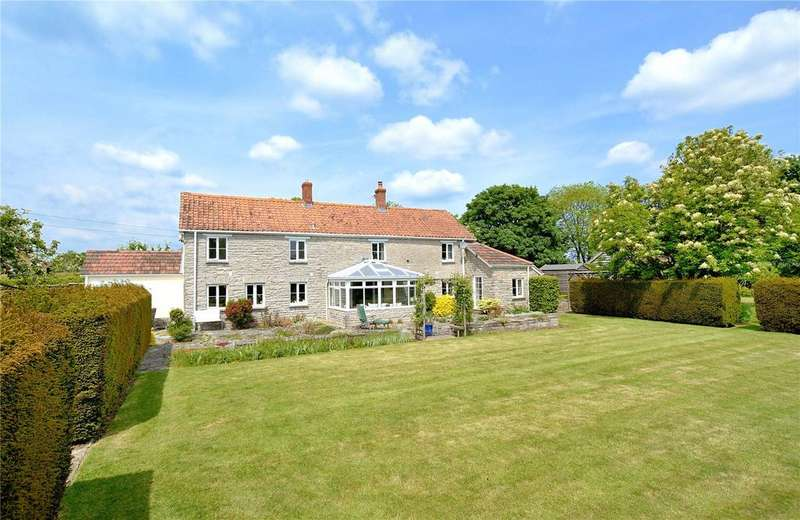 5 Bedrooms Detached House for sale in Lovington, Castle Cary, Somerset