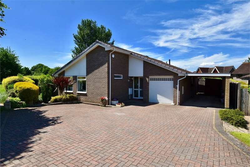 3 Bedrooms Detached Bungalow for sale in Sedgemoor Close, Nailsea, Bristol, North Somerset