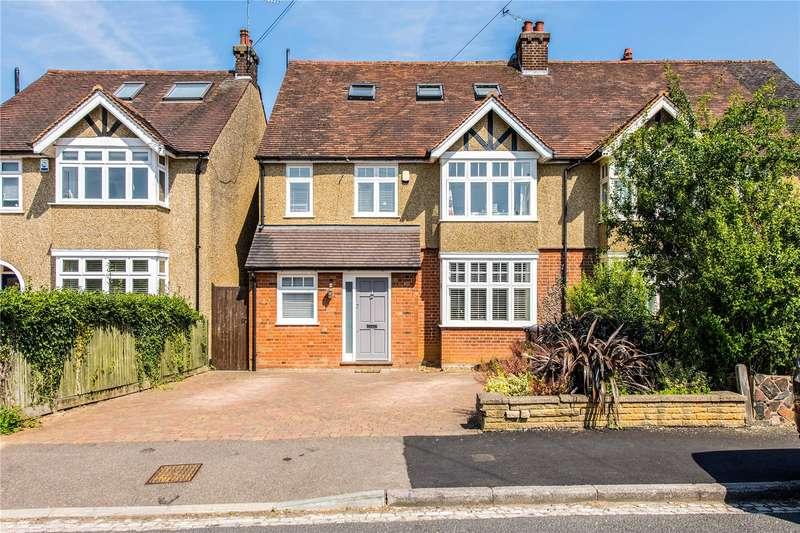 5 Bedrooms Semi Detached House for sale in Lancaster Road, St. Albans, Hertfordshire, AL1