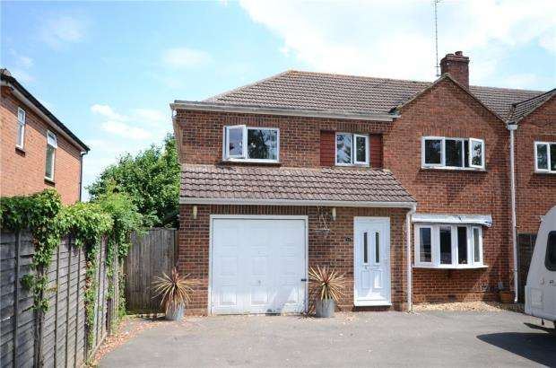 4 Bedrooms Semi Detached House for sale in Commons Road, Wokingham, Berkshire