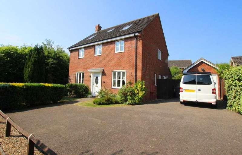 6 Bedrooms Detached House for sale in Boleyn Way, Haverhill CB9