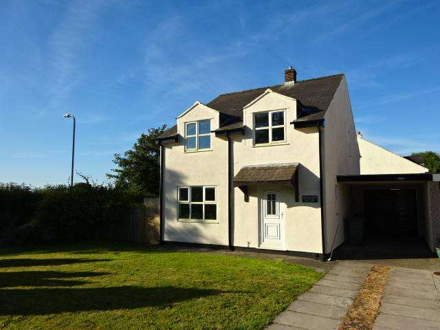 4 Bedrooms Link Detached House for sale in MAES GLAS, BETHEL, BODORGAN LL62