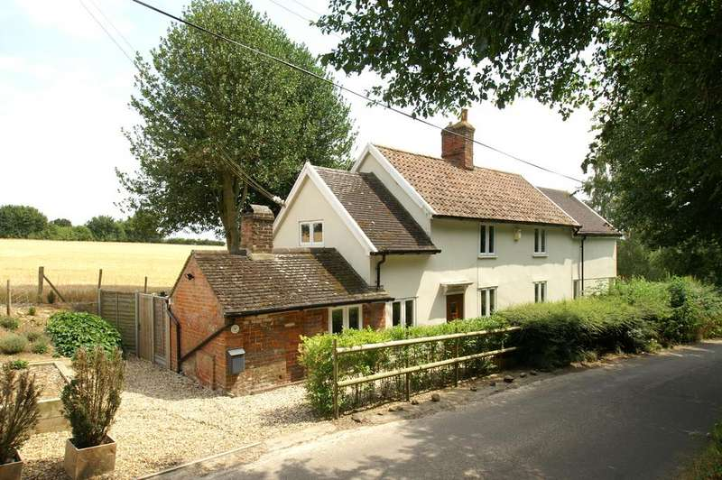 4 Bedrooms Detached House for sale in Boxted, Near Hartest, Bury St Edmunds IP29
