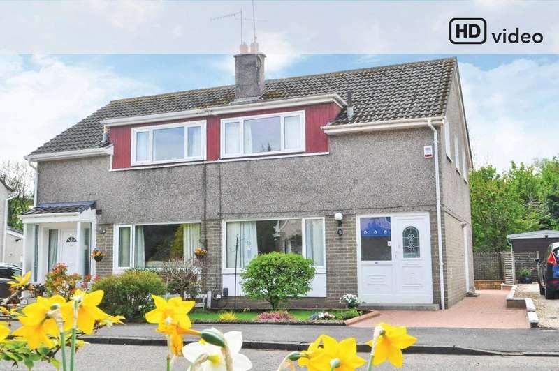 3 Bedrooms Semi Detached House for sale in Mansefield Crescent, Old Kilpatrick, West Dunbartonshire, G60 5JJ