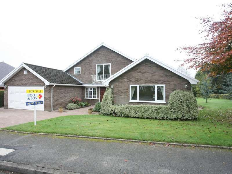 4 Bedrooms Detached House for sale in 1 Nirvana Close, Cannock, WS11 1HT