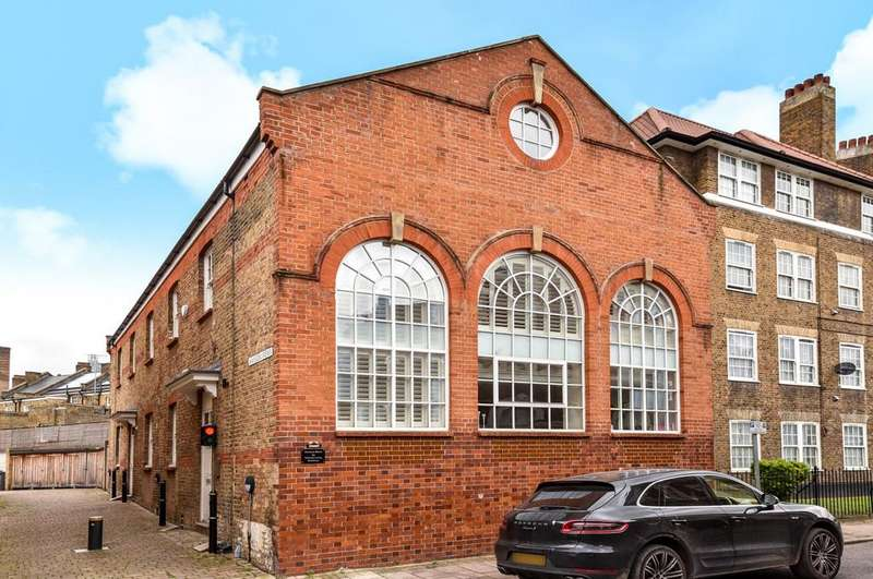 2 Bedrooms Apartment Flat for sale in Hansom Mews, Courtenay Street, SE11