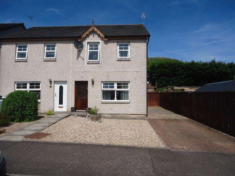 3 Bedrooms Semi Detached House for sale in Ann Street, Tillicoultry
