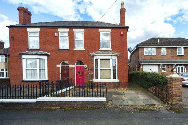 3 Bedrooms Semi Detached House for sale in Gladstone Street, Hadley, Telford, Shropshire.
