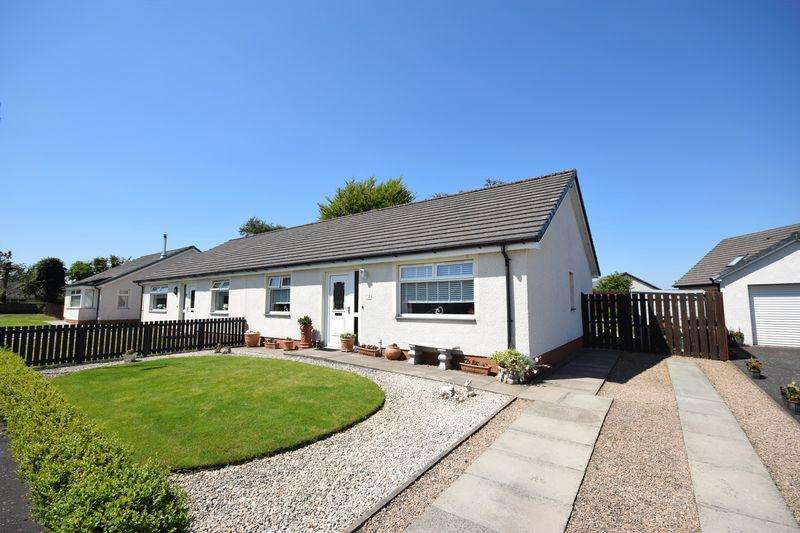 2 Bedrooms Semi Detached Bungalow for sale in 5 Highhouse View, Auchinleck KA18 2LD
