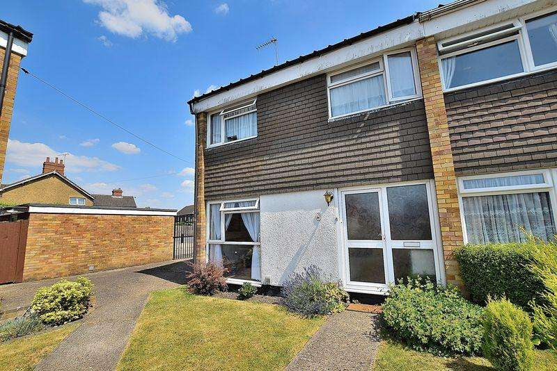 3 Bedrooms End Of Terrace House for sale in Chiltern Road, Central Dunstable