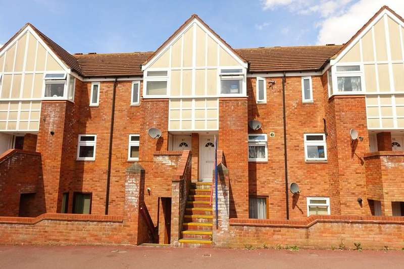2 Bedrooms Maisonette Flat for sale in The High Street, Two Mile Ash, Milton Keynes MK8