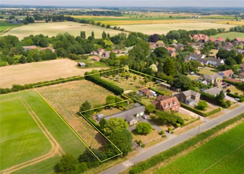 Land Commercial for sale in Building Plots, Cliff Road, Snitterby, Gainsborough, DN21