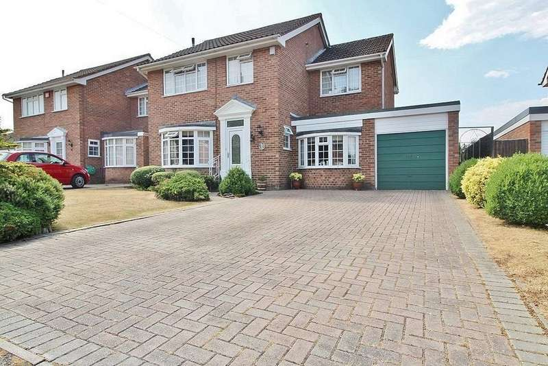 4 Bedrooms Detached House for sale in Oakmont Drive, Cowplain