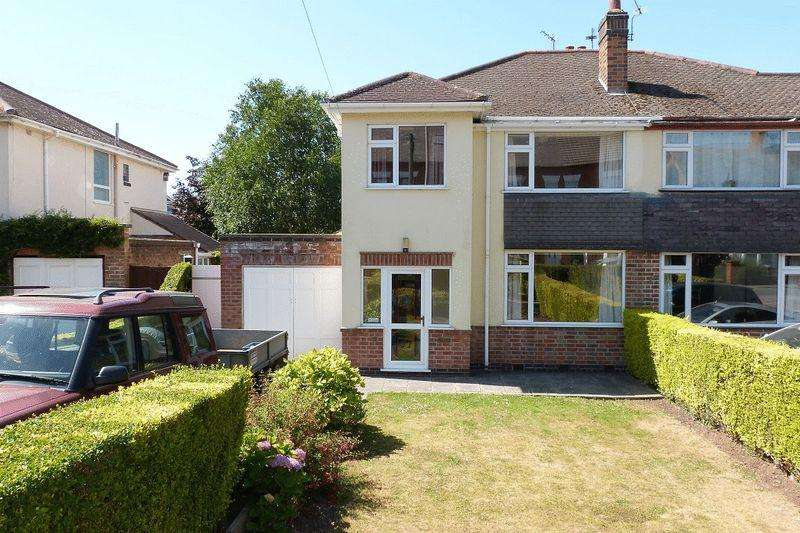 3 Bedrooms Semi Detached House for sale in Wanlip Road, Syston