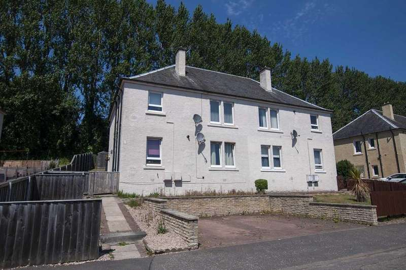 2 Bedrooms Flat for sale in 47 Beechwood, Sauchie FK10 3LA, UK
