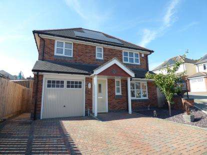 3 Bedrooms Detached House for sale in Lon Gwaenfynydd, Llandudno Junction, Conwy, North Wales, LL31