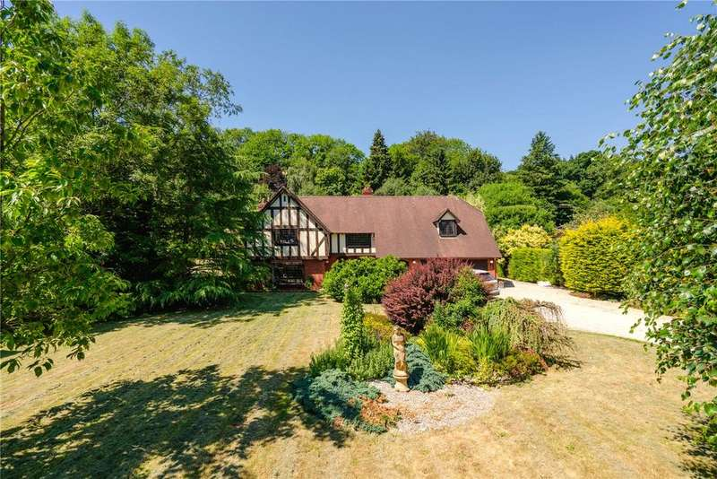 4 Bedrooms Detached House for sale in Aymestrey, Leominster, Herefordshire