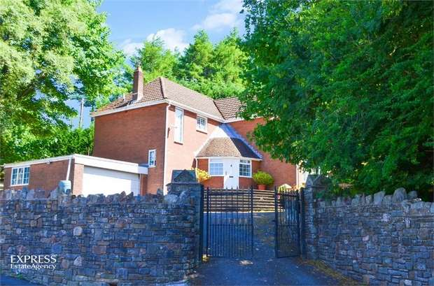 3 Bedrooms Detached House for sale in St James Close, Tredegar, Blaenau Gwent
