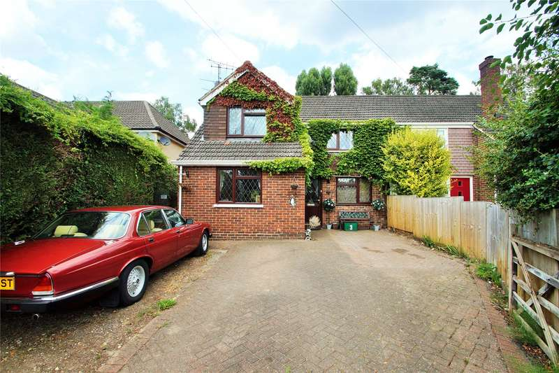 4 Bedrooms Semi Detached House for sale in College Crescent, College Town, Sandhurst, Berkshire, GU47